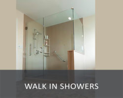 WALK IN SHOWERS